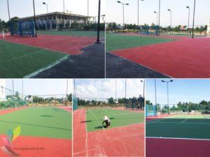 Dự Án Thi Công Sơn Sân Tennis