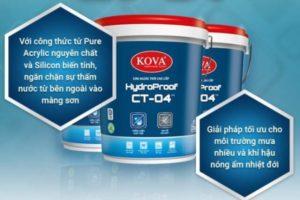 Bảng báo giá Sơn dầu Kova mới nhất 2020